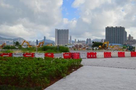 administratively: kai tak subway site