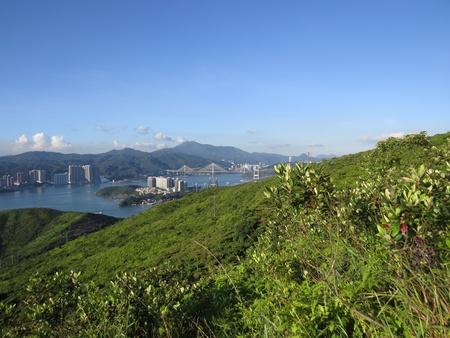 lantau: Lantau island in Hong Kong