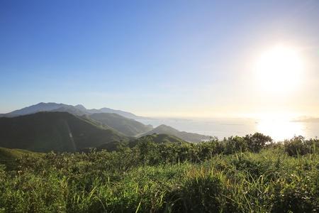 Sunset of lantua island photo