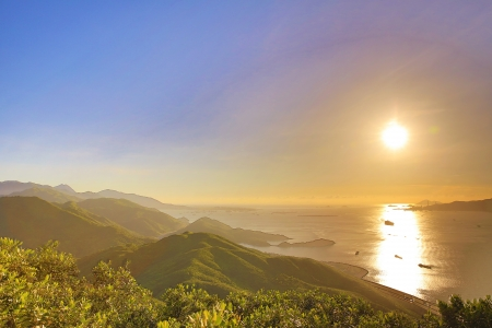 Lantau Link sunset photo