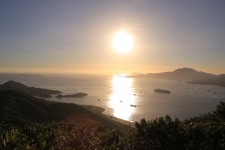 lantau: Sunset of Tai Tung Shan