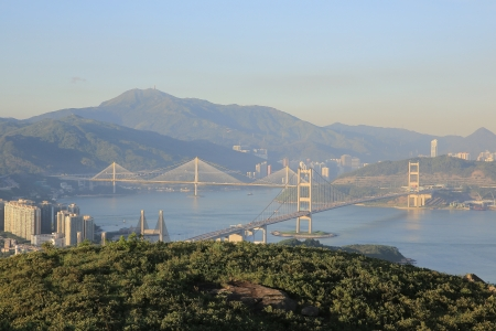 ting kau Bridge ,Lantau Link,Tsing Ma Bridge photo