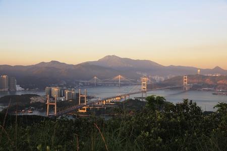 ting kau Bridge ,Lantau Link,Tsing Ma Bridge photo