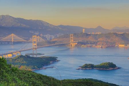 lantau: Ting Kau Bridge, Lantau Link, Tsing Ma Bridge