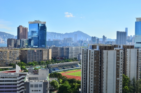 kowloon Bay Stock Photo - 21837384
