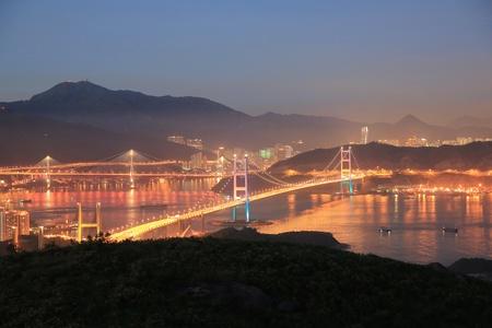lantau: ting kau Bridge ,Lantau Link,Tsing Ma Bridge
