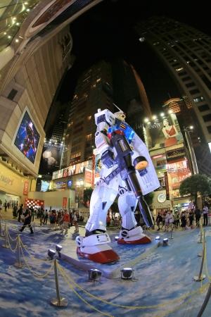 mecha: gundam show in hk Editorial