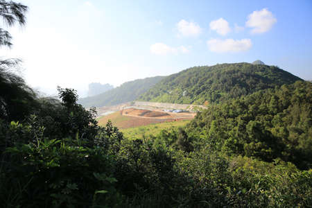 landfill site: tseung kwan o Laying waste