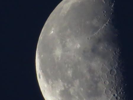 insanity: moon close up