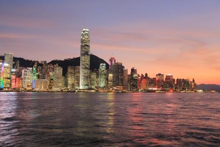 Tsim Sha Tsui view hong kong