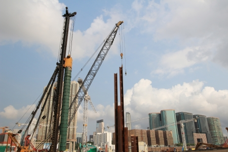west Kowloon building site photo