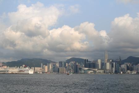 hk: Skyline of Hong Kong  HK  cityscape