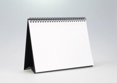 日曆白演示 版權商用圖片