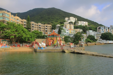 repulse: Longevity Bridge in Kwan Yin Temple on Repulse Bay, Hong Kong