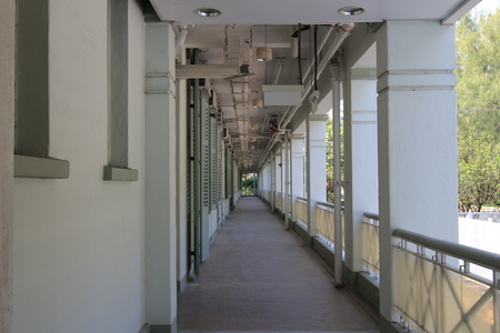 A Long Colonnade Stock Photo - 22626504