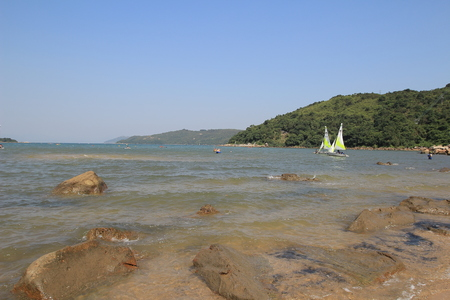 ha: ho ha wan , sai kung Stock Photo