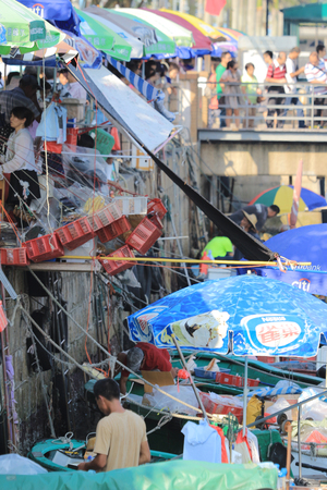 sai kung sea market, hong kong Stock Photo - 22709196