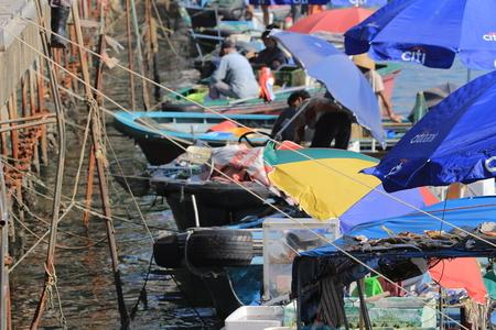 sai kung sea market, hong kong Stock Photo - 22709198