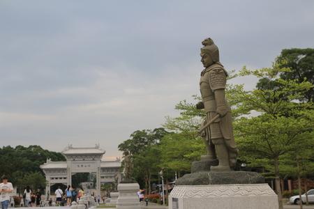 lantau: temple, Lantau
