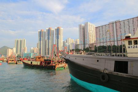 aberdeen, hong kong Stock Photo - 23544341