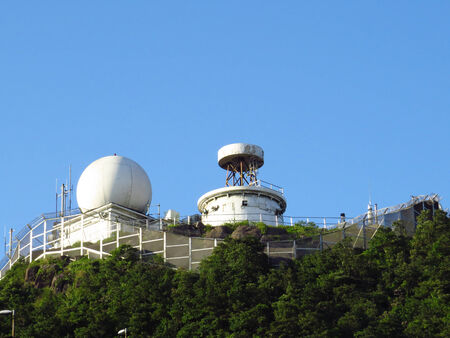 nato summit: radio station at the peak