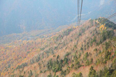 ropeway: Shinhotaka Ropeway Stock Photo