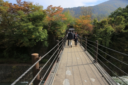 Shirakawa go bridge