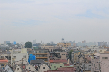 Topview Of City At Japan photo