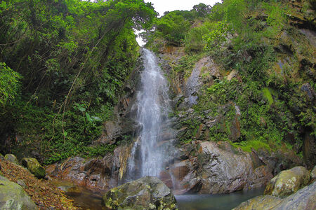 Ng Tung Chai waterfall Stock Photo - 26809357