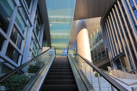 diminishing perspective: escalator Editorial