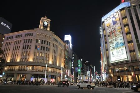 Ginza 版權商用圖片 - 24715835