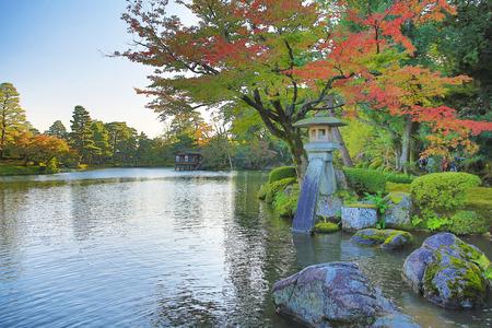 金沢の庭 写真素材