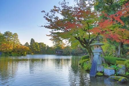 Kotoji ランタン兼六園金沢 写真素材