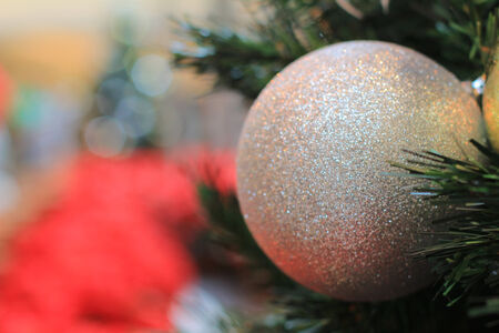 Christmas tree ball photo