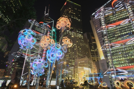 Christmas Decoration in Hong Kong WinterFest