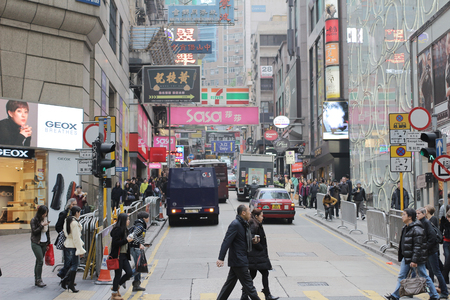 Queen s Road, central, hong kong
