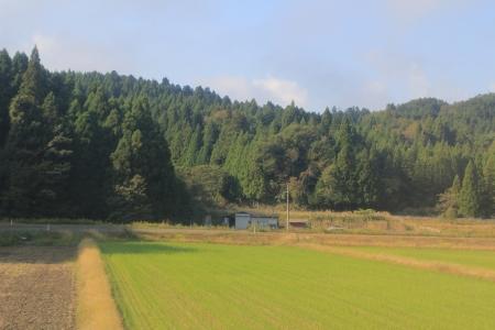 FUKUI countryside Stock Photo