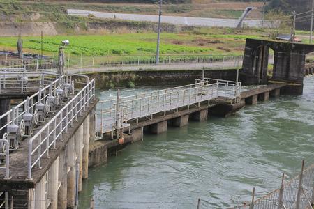 Hydro power plant photo