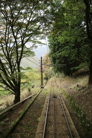 ropeway: Hieizan Ropeway Stock Photo