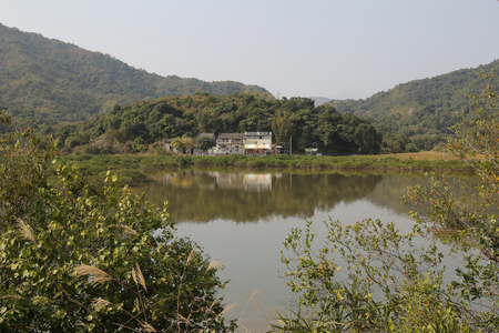 riverside landscaping: Sam A wan, hong kong