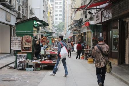 wan: Lascar Row, hong kong Editorial