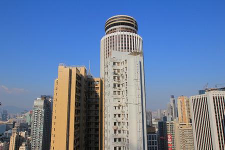 Bowen road view of wan chai
