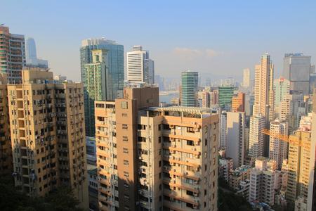 wan: Bowen road view of wan chai