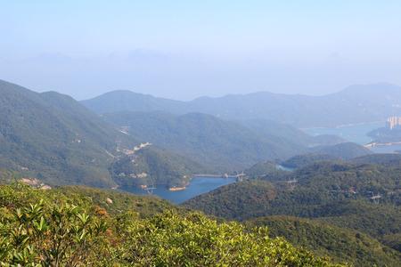 tam: Tai Tam Reservoir Country park Stock Photo