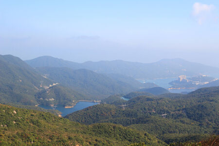 tam: Tai Tam Reservoir Country park Stock Photo