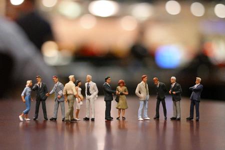 Small Business Man Figur Standard-Bild