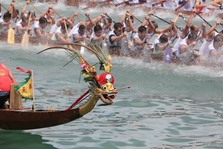 Dragon Boat Racing at Stanley