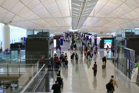 international business center: Hong Kong International Airport interior