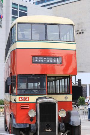 mouthed: classic bus at hong kong