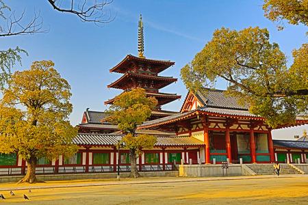 四天王寺在天王寺區,大阪,日本